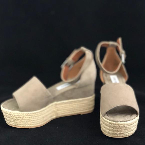 30e95ed6a29 Shoes - NIB- Steve Madden Apollo Espadrille Wedge Sandal